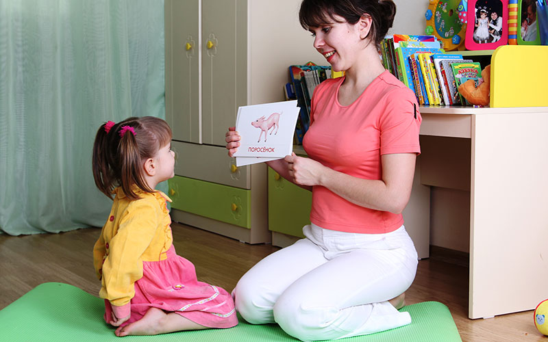 Развитие речи для ребенка в 2 года
