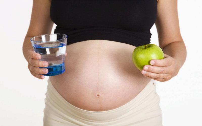Изменение беременной на 21 неделе