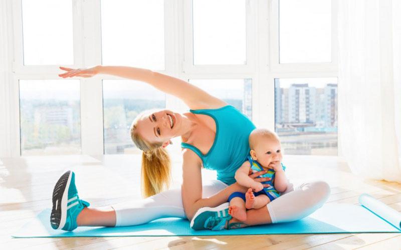 Спорт для похудения во время кормления грудью после родов