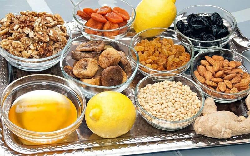 Продукты для поднятия иммунитетв
