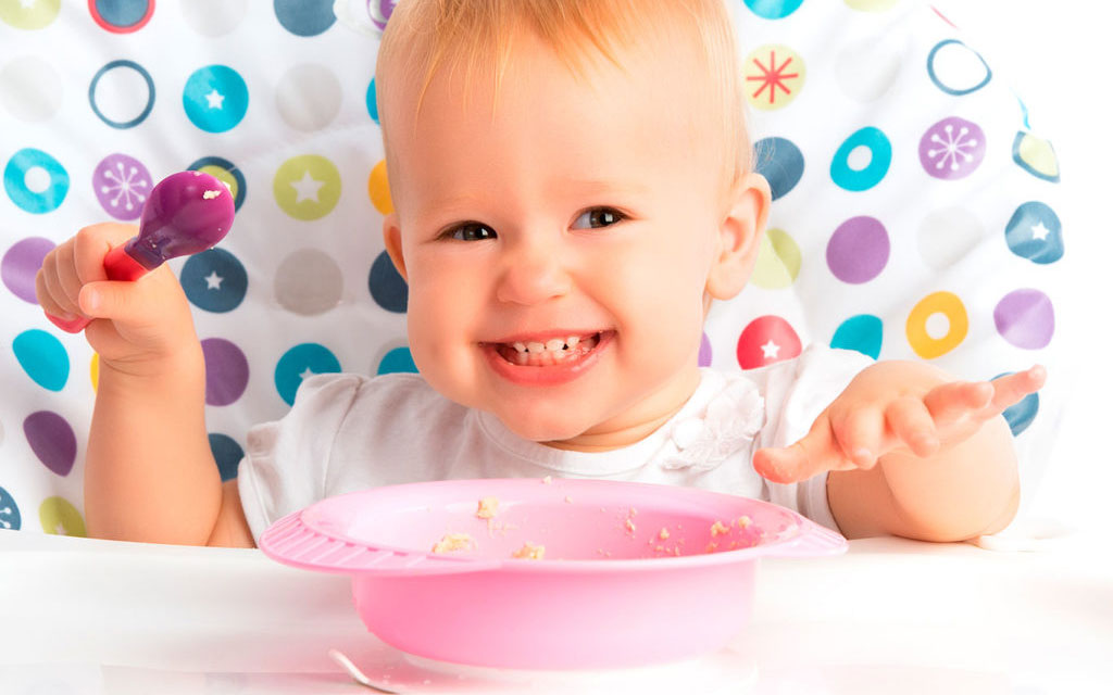 График питания ребенка в год
