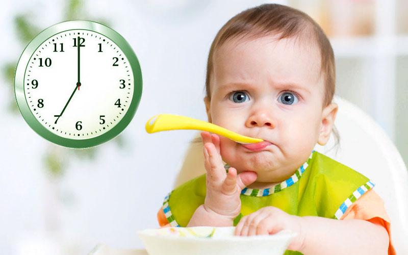 Ужин ребенка в 1 год