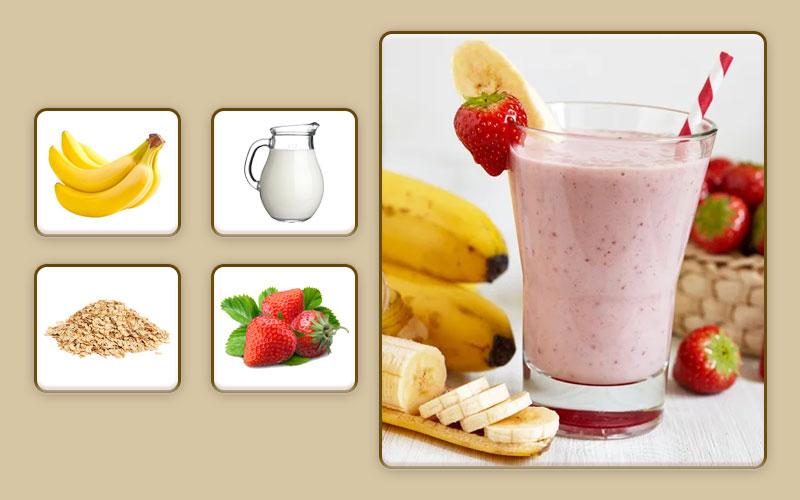 Витаминный смузи для начала прикорма
