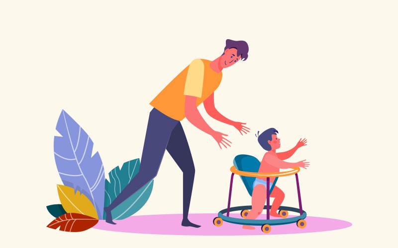 Могут ли ходунки научить ребенка ходить?