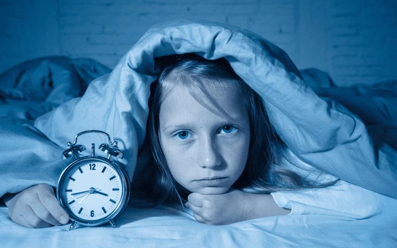 Ребенок плохо спит в 6-12 лет