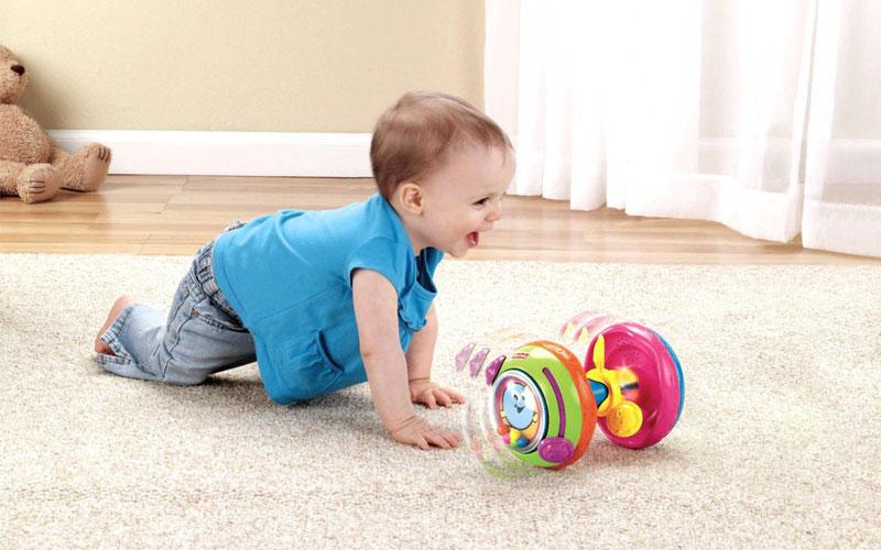 Стимул для того чтобы научиться ребенку ползать