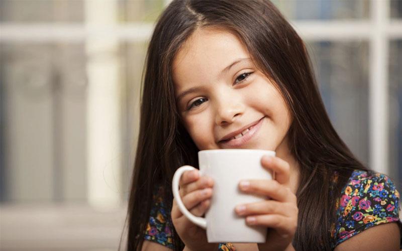 В каком случае можно пить кофе ребенку?