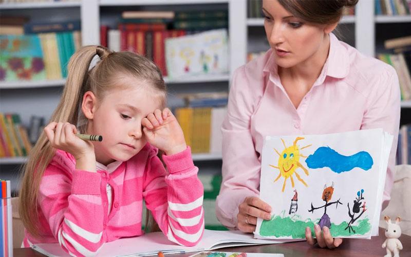 Обратитесь за помощью к детскому психологу
