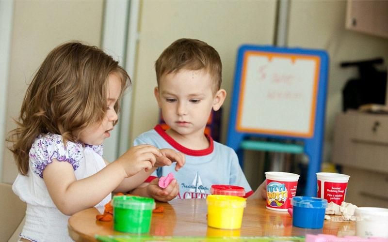 Рабочее место или первый шажок на пути к успеху в раннем развитии