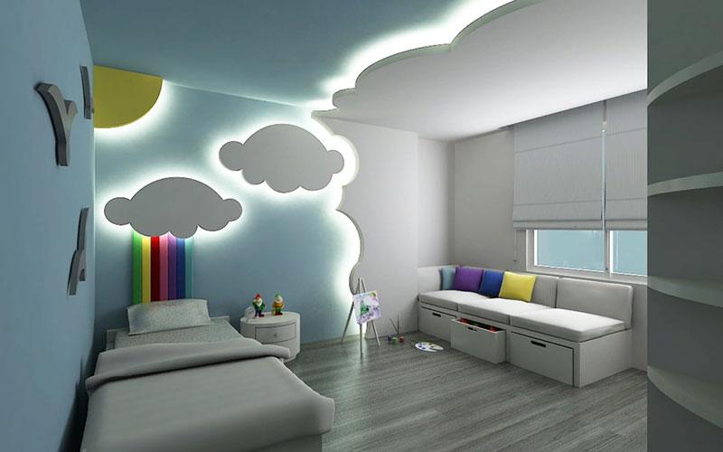 Электрика в детской комнате. Как правильно расположить розетки и освещение.