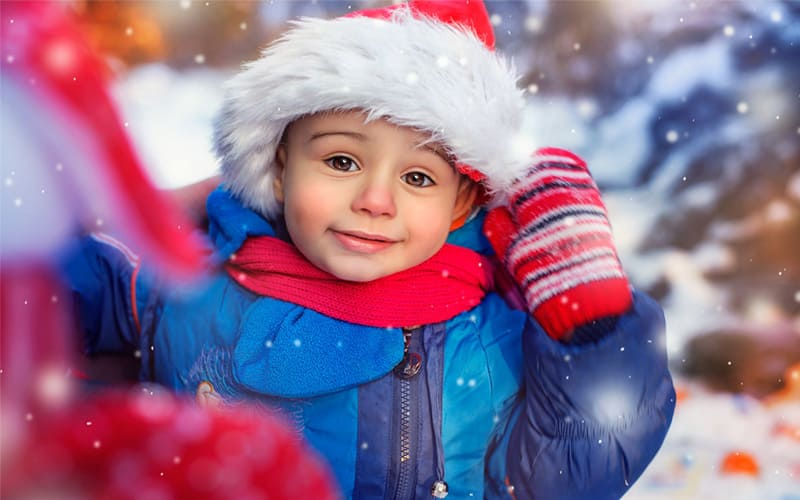 Как праздновать Новый Год с ребенком?