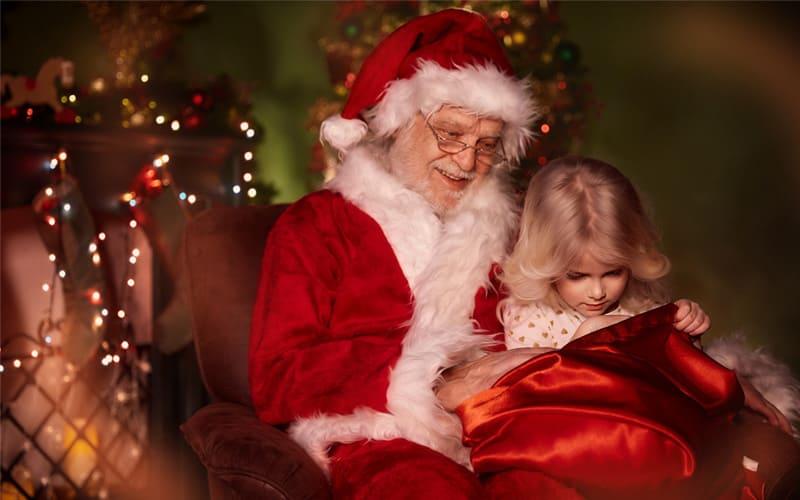 Приглашение Деда Мороза на дом.