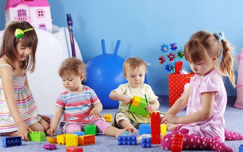 Дети различного возраста для развлечений