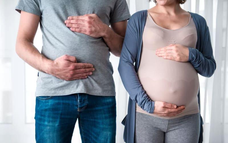 Как проявляется синдром кувад?