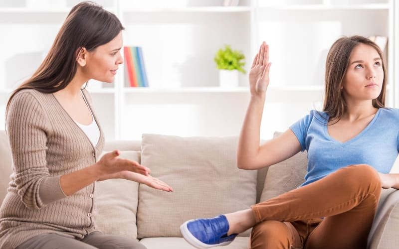 Копирование стиля общения в семье.