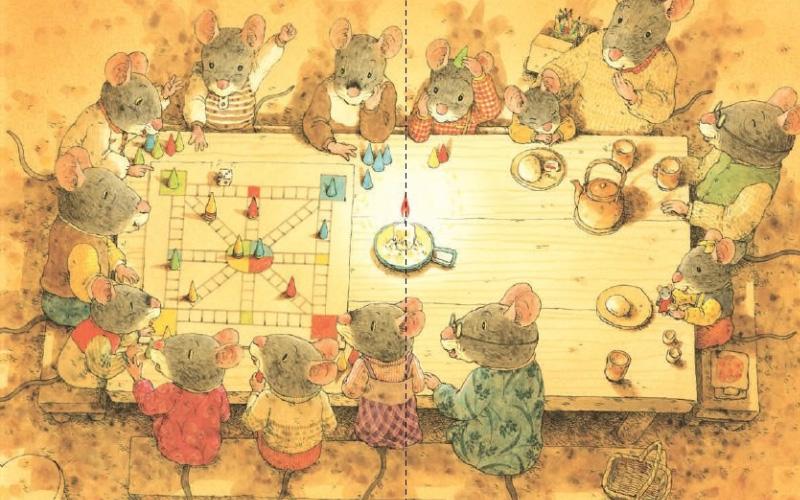 "14 лесных мышей"" Кадузо Ивамура"