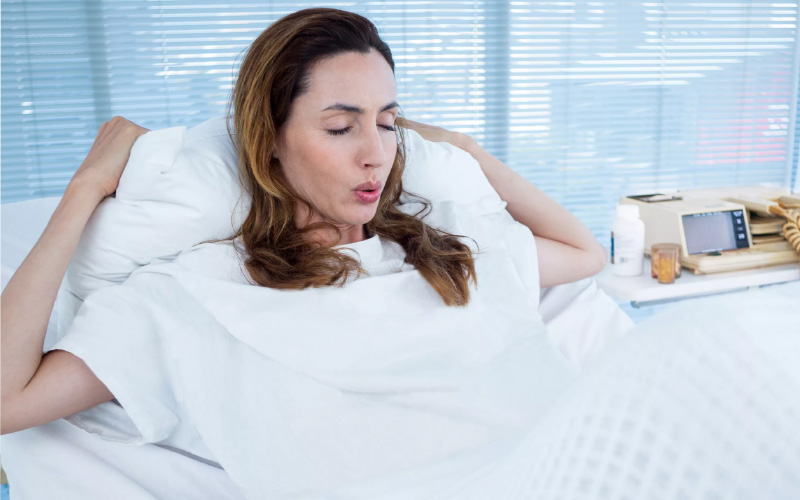 Дыхательные техники помогают уменьшить боль при родах