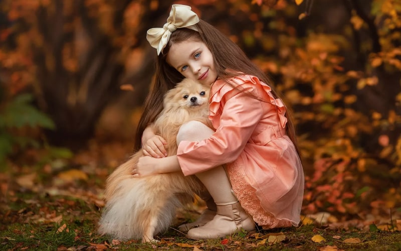 Щенок – это способ выработать характер и дисциплину - ребенок хочет собаку