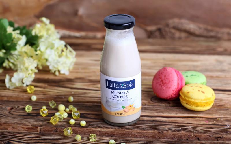 Примерный состав различного соевого молока (в стакане продукта)