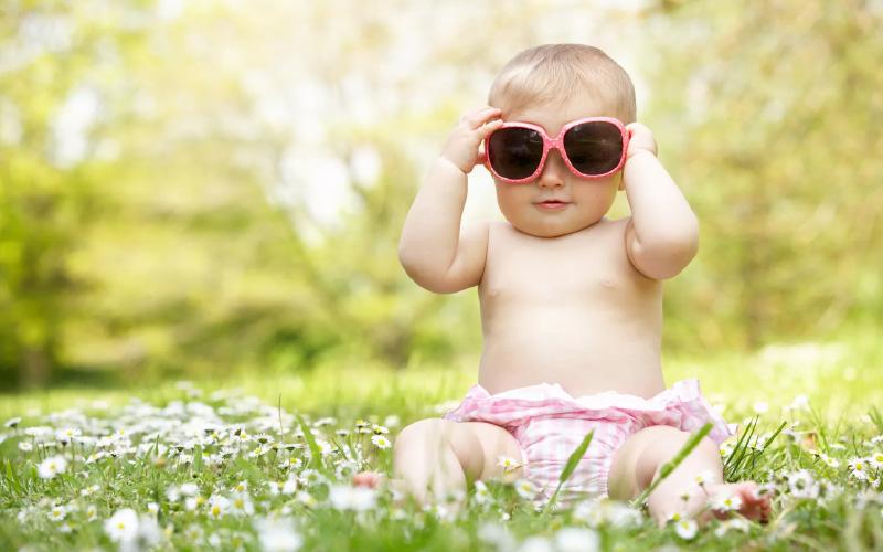 Солнцезащитные очки для годовалого ребенка