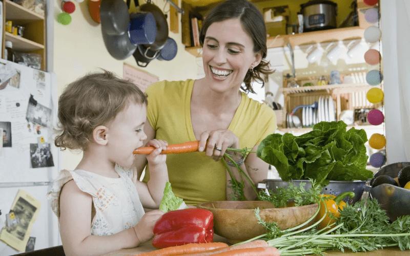 Вегетарианство для детей – новомодное течение